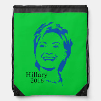 Hillary 2016 Vote Hillary Clinton for President Cinch Bags