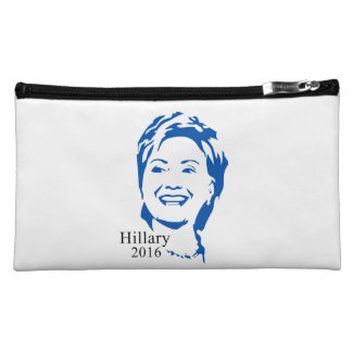 Hillary 2016 Vote Hillary Clinton for President Cosmetics Bags