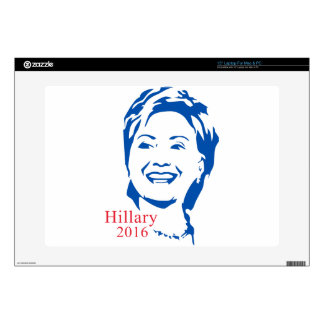 "HIllary 2016 | Vote HIllary Clinton for President Decal For 15"" Laptop"
