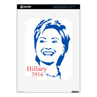HIllary 2016 | Vote HIllary Clinton for President Decals For iPad 3