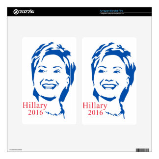 HIllary 2016 | Vote HIllary Clinton for President Decals For Kindle Fire