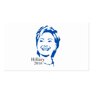 HIllary 2016 Vote HIllary Clinton for President Double-Sided Standard Business Cards (Pack Of 100)