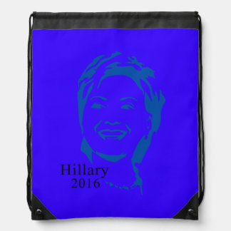 Hillary 2016 Vote Hillary Clinton for President Drawstring Backpacks