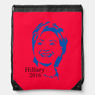 Hillary 2016 Vote Hillary Clinton for President Drawstring Bags