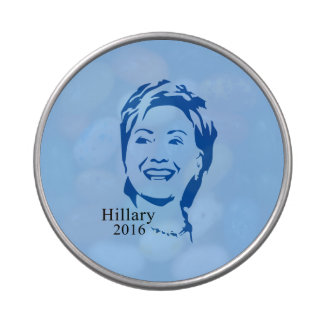 Hillary 2016 Vote Hillary Clinton for President Jelly Belly Candy Tin