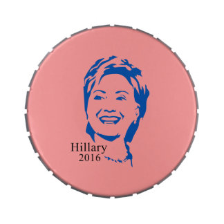 Hillary 2016 Vote Hillary Clinton for President Jelly Belly Tins
