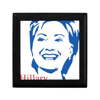 HIllary 2016 | Vote HIllary Clinton for President Keepsake Boxes