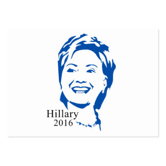 HIllary 2016 Vote HIllary Clinton for President Large Business Cards (Pack Of 100)