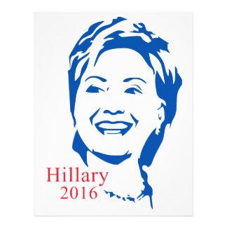 HIllary 2016 | Vote HIllary Clinton for President Letterhead