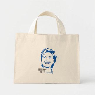Hillary 2016 Vote Hillary Clinton for President Mini Tote Bag