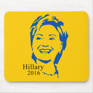 Hillary 2016 Vote Hillary Clinton for President Mouse Pad