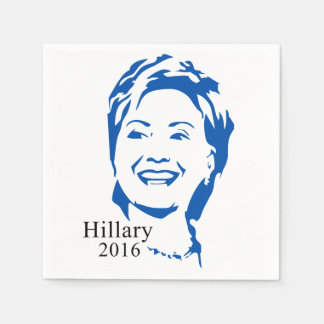 Hillary 2016 Vote Hillary Clinton for President Paper Napkin