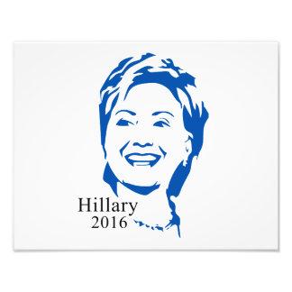 Hillary 2016 Vote Hillary Clinton for President Photo Print