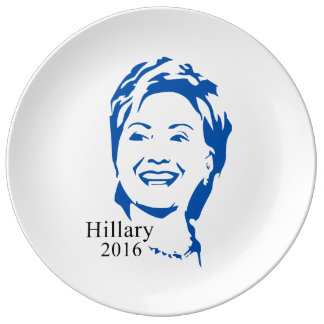 Hillary 2016 Vote Hillary Clinton for President Plate