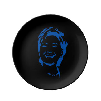 Hillary 2016 Vote Hillary Clinton for President Porcelain Plate