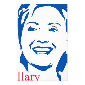 HIllary 2016 | Vote HIllary Clinton for President Stationery