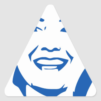 HIllary 2016   Vote HIllary Clinton for President Triangle Sticker