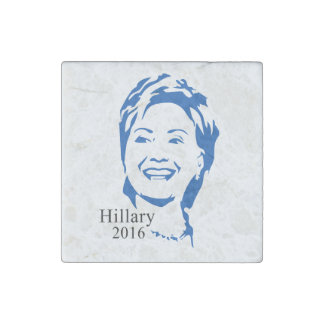 Hillary 2016 Vote Hillary Clinton for President Stone Magnet