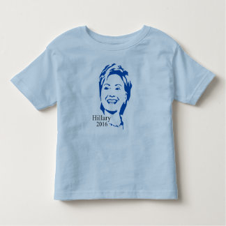Hillary 2016 Vote Hillary Clinton for President Toddler T-shirt