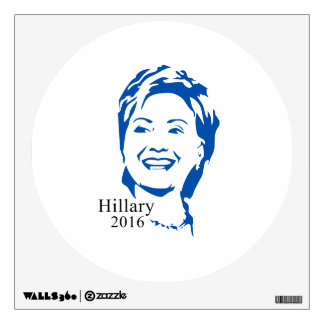 Hillary 2016 Vote Hillary Clinton for President Wall Decal