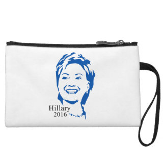 Hillary 2016 Vote Hillary Clinton for President Wristlet Clutch