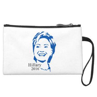 Hillary 2016 Vote Hillary Clinton for President Wristlet Purses