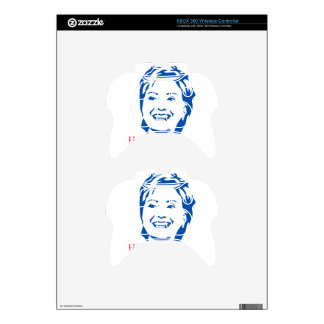 HIllary 2016 | Vote HIllary Clinton for President Xbox 360 Controller Skin