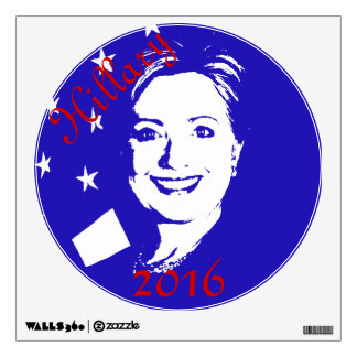 Hillary 2016 wall sticker
