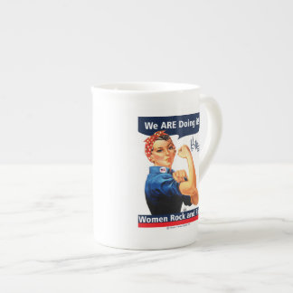 Hillary 2016 We ARE doing it! Tea Cup