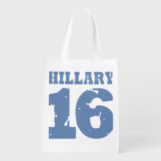 HILLARY 2016 REUSABLE GROCERY BAGS