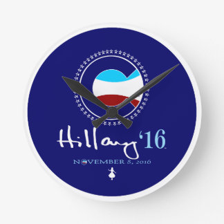 ¡Hillary! 6' Clinton Reloj De Pared