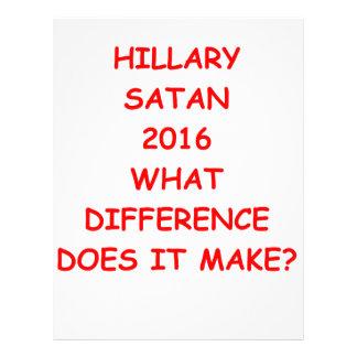 hillary anti 2016 membrete a diseño