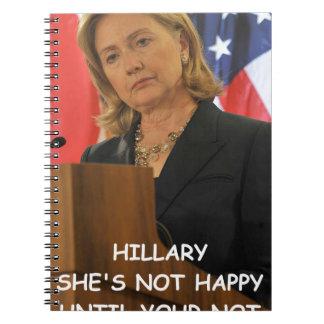 hillary anti Clinton Libretas