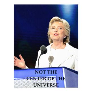 hillary anti Clinton Membrete Personalizado