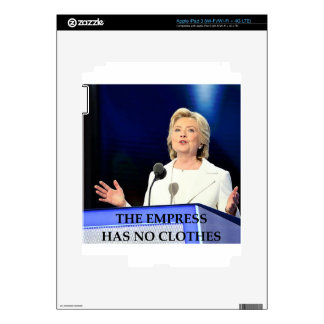 hillary anti Clinton Pegatina Skin Para iPad 3