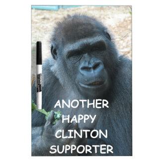 hillary anti Clinton Tableros Blancos