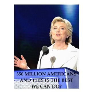 hillary anti Clinton Plantilla De Membrete