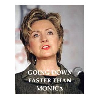 hillary anti Clinton Plantillas De Membrete