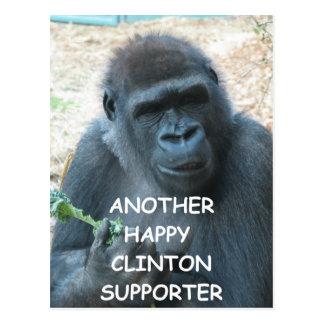 hillary anti Clinton Postales