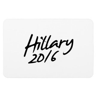 HILLARY AUTOGRAPH 2016.png Rectangular Magnet