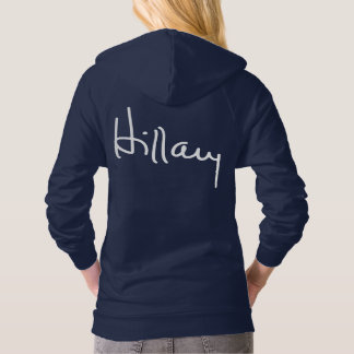 HILLARY AUTOGRAPH HOODIE