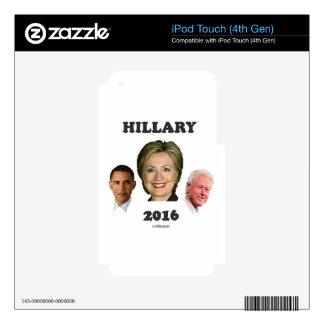 Hillary_Bill_Barack Skin For iPod Touch 4G