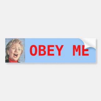 Hillary Bumper Stickers