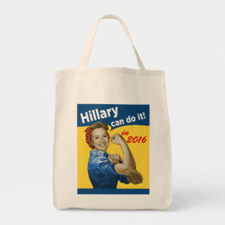 Hillary Can Do It 2016 Tote Bag