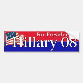 Hillary Car Bumper Sticker