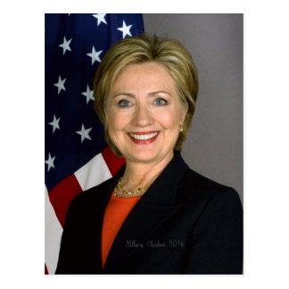 Hillary Clinton2 Postcard