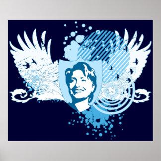 hillary clinton 08. hi-fi. v1. poster