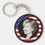 hillary Clinton 08. nosotros bandera. pintoresco Llaveros