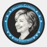 hillary Clinton 08. pintoresco Pegatinas