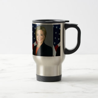hillary clinton 15 oz stainless steel travel mug